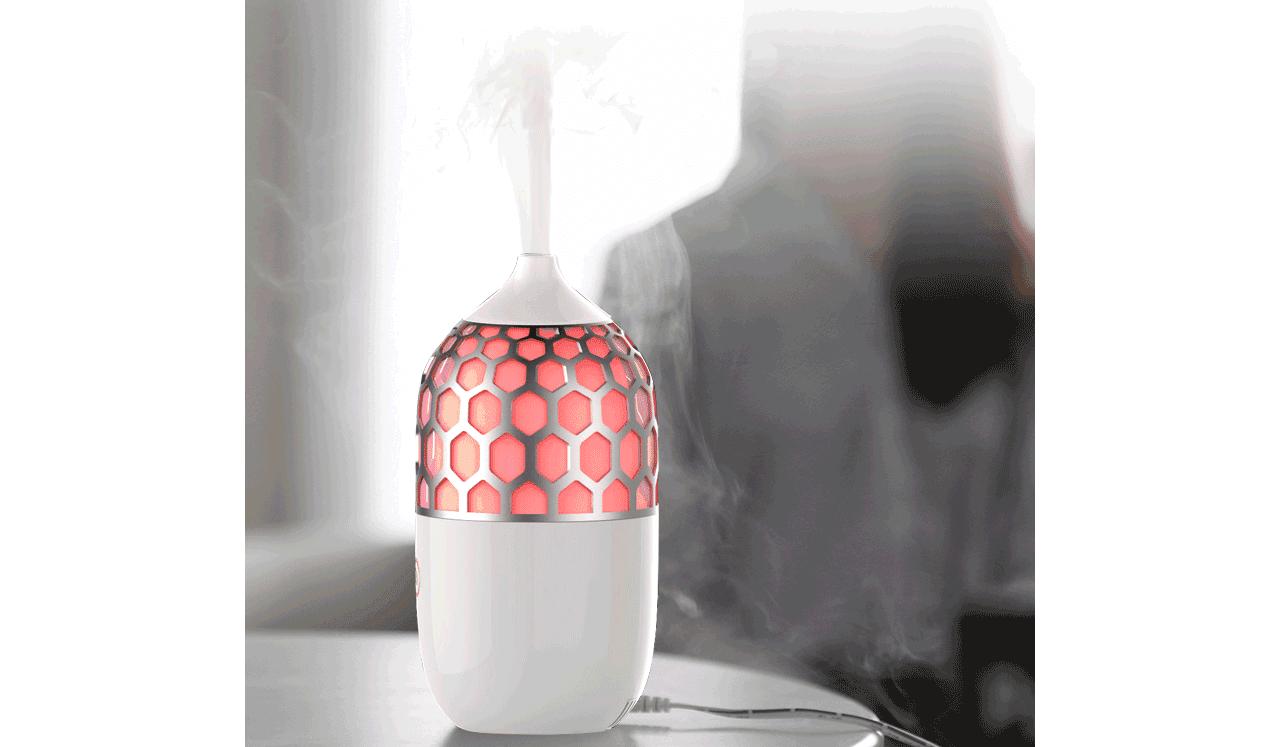 此款香薰机有多种灯光颜色